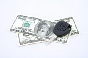 Keys and cash