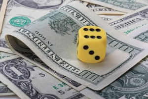 Gamble on investments with a small slush fund account